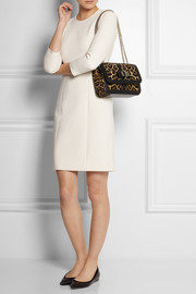 Christian Louboutin Sweet Charity leopard-print calf hair shoulder bag