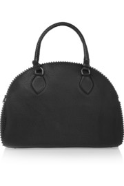 Christian Louboutin Panattone spiked textured-leather tote