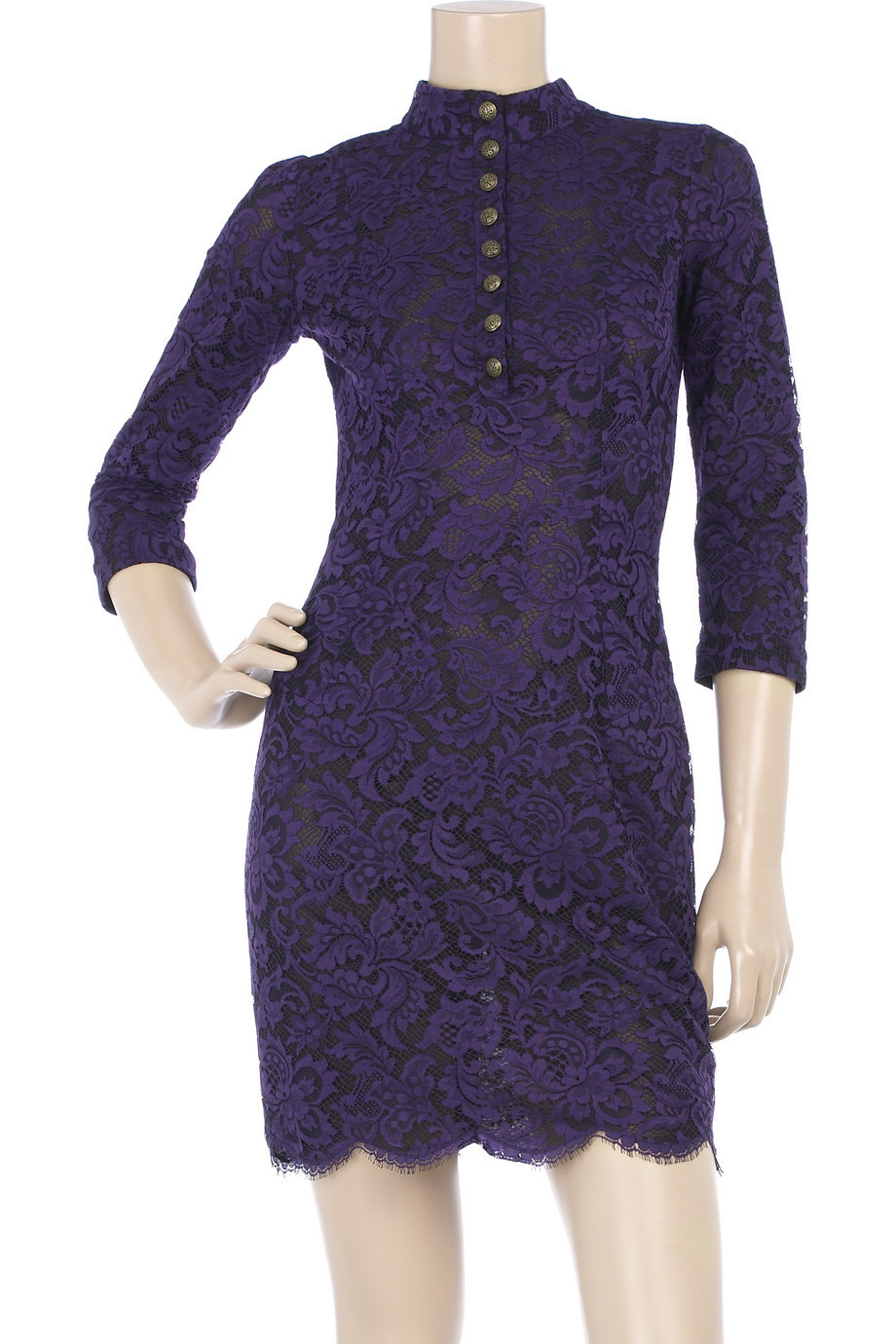 L'Wren Scott Layered lace dress | NET-A-PORTER.COM from net-a-porter.com