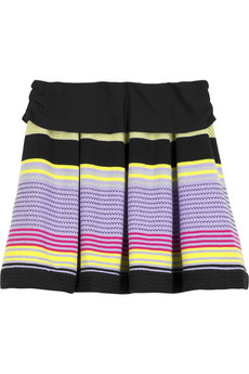 Pringle 1815 Multistripe knitted skirt