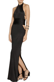 Agent Provocateur Terese silk-jersey maxi dress