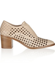 Reed Krakoff Perforated leather Oxford-style pumps