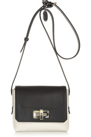 Lanvin The Happy mini two-tone leather shoulder bag