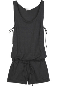 Chloé Sleeveless drawstring playsuit | NET-A-PORTER.COM from net-a-porter.com