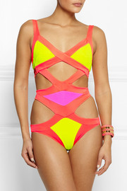 Agent Provocateur Mazzy cutout swimsuit