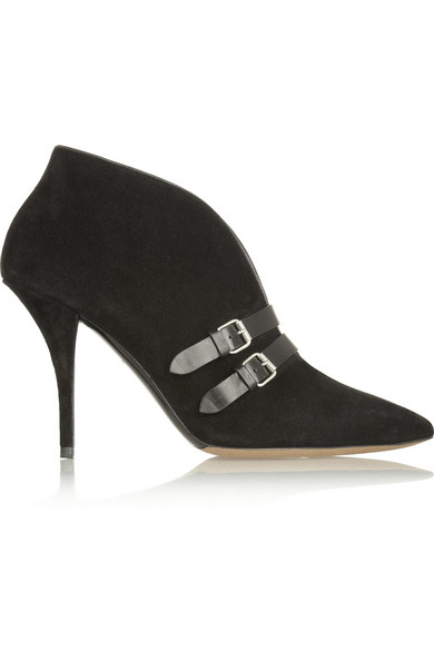 Sale alerts for Phoenix buckled suede ankle boots Tabitha Simmons - Covvet