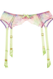 Agent Provocateur Phoenix lace suspender belt