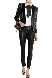 Saint Laurent Sequined tuxedo jacket