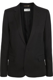 Saint Laurent Virgin wool-gabardine blazer