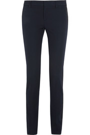 Saint Laurent Satin-trimmed wool tuxedo pants