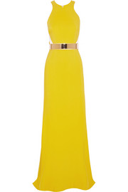 Stella McCartney Saskia stretch-cady gown