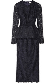 Stella McCartney Dixie macramé lace two-piece dress
