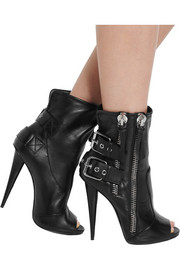 Giuseppe Zanotti Alien leather ankle boots