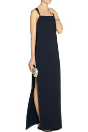 The Row Tiglie stretch-cady gown