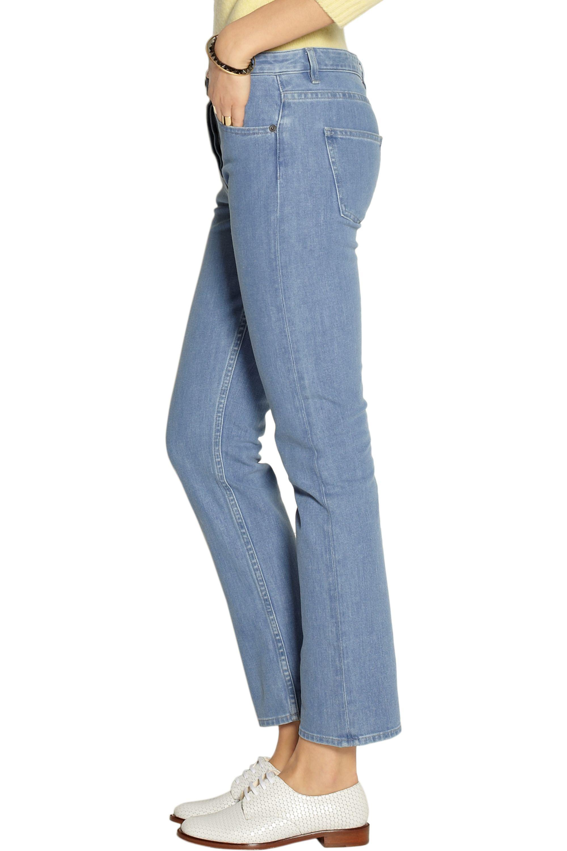 The Row Norland halbhohe Jeans mit geradem Bein