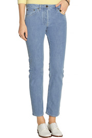 The Row Norland mid-rise straight-leg jeans