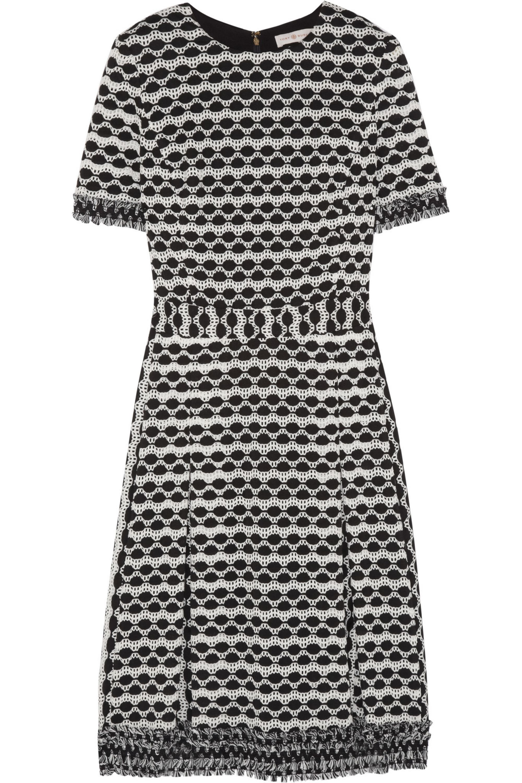 Tory Burch Paulina open-knit dress