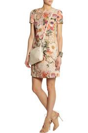 Tory BurchKaley floral-print slub-faille dress
