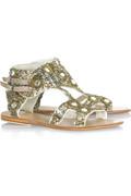 Antik Batik Palmer sequin sandals