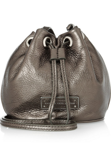 41efc3837 Marc by Marc Jacobs | Too Hot To Handle metallic leather shoulder ...