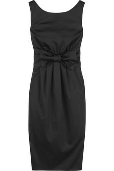 Moschino Cheap & ChicBow-waist shift dress