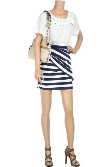 Camilla And Marc Jordana Striped Skirt Net A Porter Com