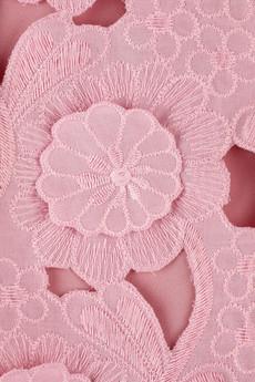 Catherine MalandrinoFlower appliqué dress