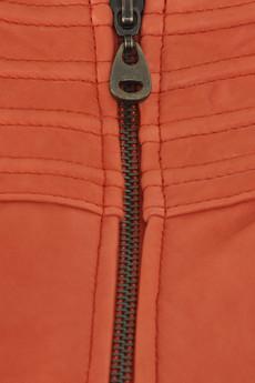 DomaStitched leather jacket