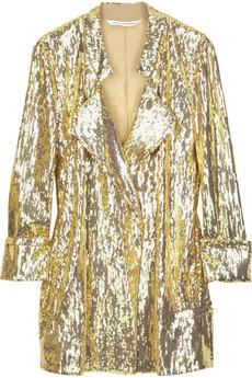 Diane von FurstenbergChefly sequined blazer