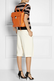 3.1 Phillip Lim The Pashli shark-effect leather backpack