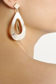 Ashley PittmanHeleni horn and bronze earrings