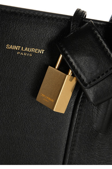 Saint Laurent Sac De Jour mittelgroße Leder-Tote Erhalten Verkauf Online Kaufen q1u1dzcM