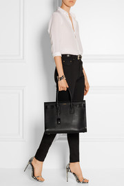 Sac De Jour medium leather tote