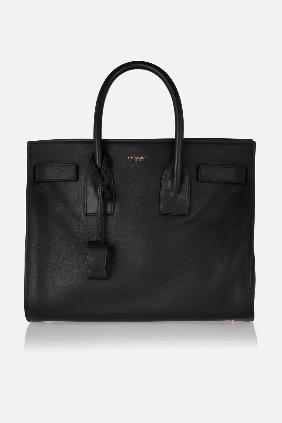 Saint Laurent Sac De Jour Small Leather Tote, Black, Women's, Size: One Size
