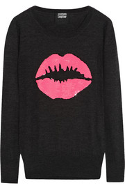 Markus Lupfer Smacker sequined merino wool sweater