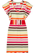 Thread Social Striped cotton mini dress