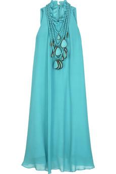 Thurley Trapeze silk dress