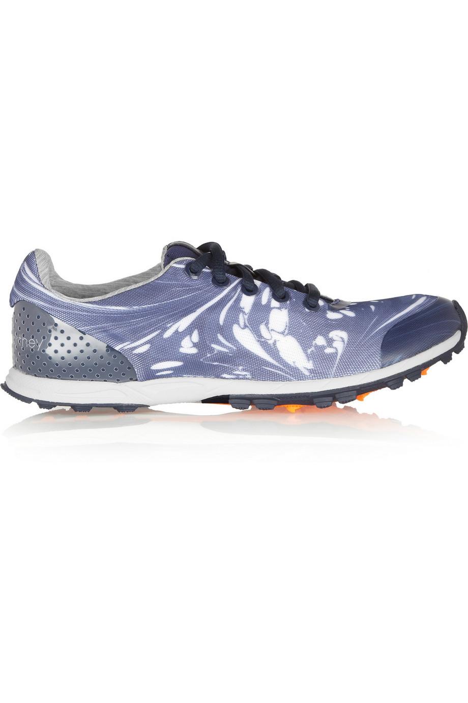 Adidas by Stella McCartney | Eupherusa printed air mesh sneakers | NET-A