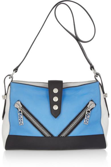 40a553c843 KENZO | Kalifornia medium leather shoulder bag | NET-A-PORTER.COM