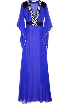 Matthew Williamson Bead-embellished maxi kaftan