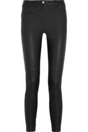 Givenchy Leather skinny pants