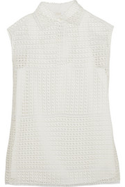 Chloé Cotton-lace top