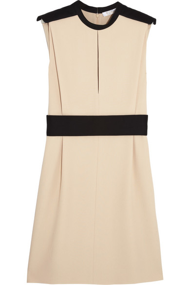 Sale alerts for Chloé Two-tone crepe dress - Covvet