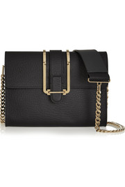Chloé Bronte textured-leather shoulder bag