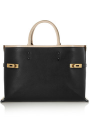 Chloé Charlotte large textured-leather tote