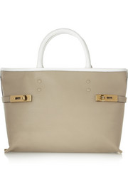 Chloé Charlotte textured-leather tote