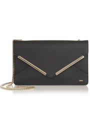 Chloé Patchwork leather envelope shoulder bag