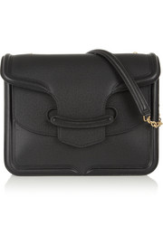 Alexander McQueen The Heroine large textured-leather shoulder bag