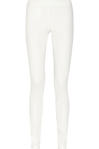 Sale alerts for Stratton stretch-cotton leggings The Row - Covvet