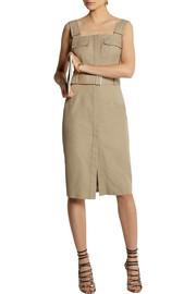 Alexander McQueenBelted cotton-canvas dress